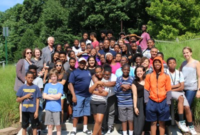 News: Baltimore-Based Writer D. Watkins Visits with Middle Grades Partnership at Park