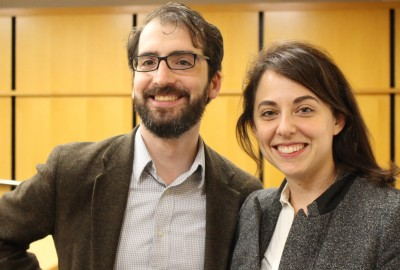 Featured News: Journalists Annie Karni '00 and Ben Jacobs '02 Share Election Insights