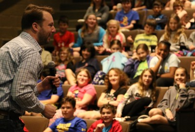 News: Adam Gidwitz '00 Returns as 2016-2017 Gordon Berman '68 Lower School Resident Author