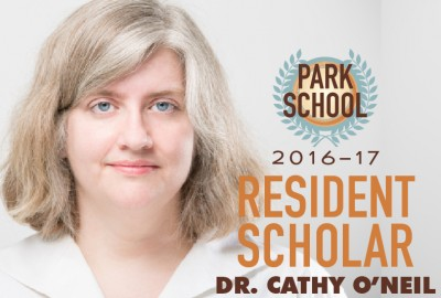 Featured News: Park Welcomes Dr. Cathy O'Neil as 2016-17 Resident Scholar