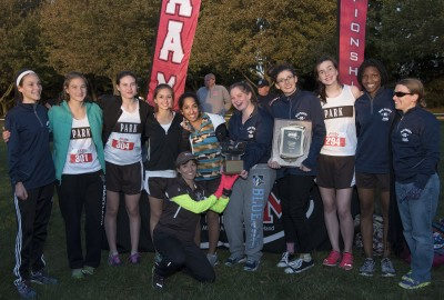 Featured News: Girls' Cross Country Wins IAAM Team Title