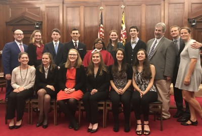 Featured News: Park's Mock Trial Team Wins 2017 State Championship!