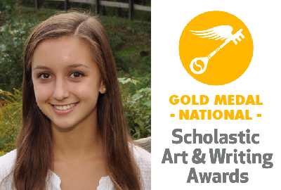News: Park Senior Hannah McKenzie Wins Gold Medal in 2017 National Scholastic Art & Writing Competition
