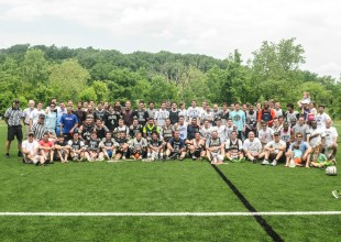 Photo: 2015 Alumni Men's Lacrosse