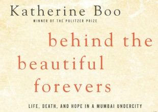 Photo: National Book Award-winning Behind the Beautiful Forevers