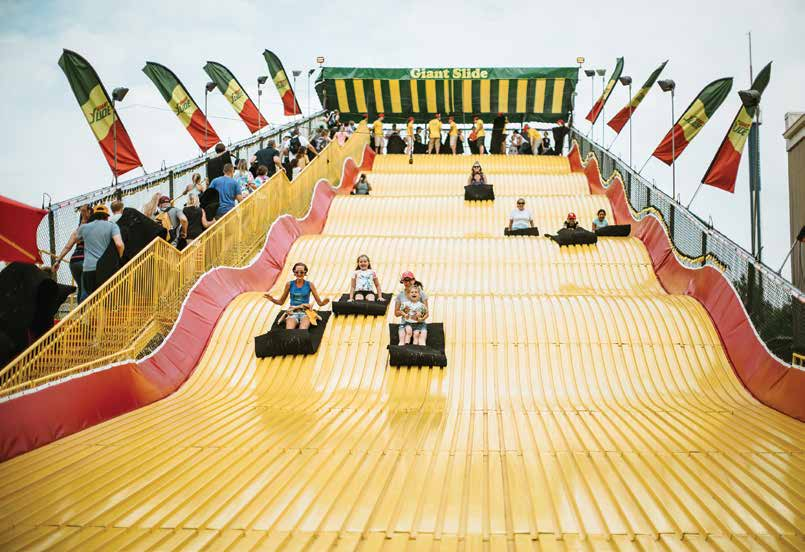 The Giant Slide will celebrate 50 years at the 2019 Minnesota State Fair. Photo courtesy of the Minnesota State Fair
