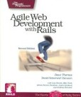 Agile web development with rails's poster (David ThomasDavid Heinemeier HanssonLeon Breedt)