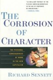 Portada de The corrosión of character (Richard Sennett)