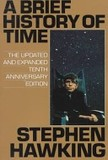 A brief history of time's poster (Stephen W. Hawking)