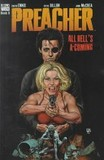 Portada de Preacher, All hell's a-coming (Garth EnnisSteve Dillon)