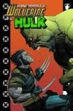 Portada de Ultimate Wolverine Vs. Hulk (Damon LindelofLeinil Francis Yu)