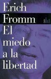 Escape from freedom's poster (Erich Fromm)