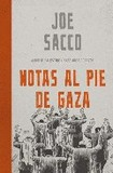 Notas al pie de gaza 's poster (Joe Sacco)