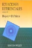 Portada de Ecuaciones diferenciales (incluye cd-rom)  (William E. Boyce)