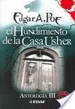 Portada de El Hundimiento de La Casa Usher (Edgar Allan Poe)