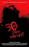 30 Days of Night's poster (Tim Lebbon)