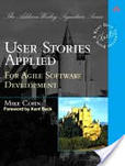 Portada de User stories applied (Mike Cohn)