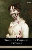 Portada de Orgullo y prejuicio y zombis  (Seth Grahame-smith)