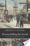 Reassembling the social's poster (Bruno Latour)