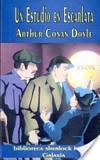 Portada de Un estudio en escarlata (Sir Arthur Conan Doyle)