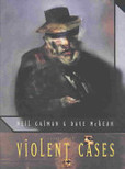 Violent Cases's poster (Neil GaimanDave McKean)