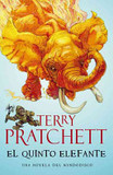 Portada de El quinto elefante/ The Fifth Elephant (Terry Pratchett)