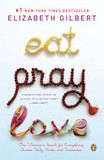 Portada de Eat, Pray, Love (Elizabeth Gilbert)