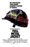 Portada de Full Metal Jacket (Stanley Kubrick)