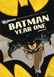 Batman: Year One's poster (Sam LiuLauren Montgomery)