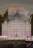The Grand Budapest Hotel's poster (Wes Anderson)
