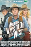 Portada de A Million Ways to Die in the West (Seth MacFarlane)