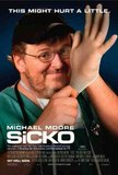 Sicko's poster (Michael Moore)