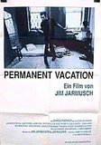 Permanent Vacation's poster (Jim Jarmusch)