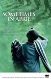Sometimes in April's poster (Raoul Peck)