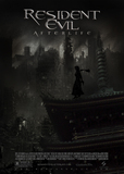Resident Evil: Afterlife's poster (Paul W. S. Anderson)