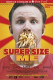 supersize me's poster (morgan spurlock)