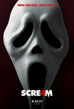 Scream 4's poster (Wes Craven)