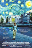 Midnight in Paris's poster (Woody Allen)