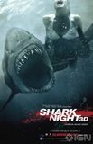 Shark Night 3D's poster (David R. Ellis)