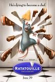 Ratatouille's poster (Brad BirdJan Pinkava)