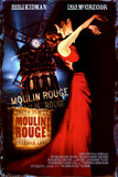 Moulin Rouge!'s poster (Baz Luhrmann)
