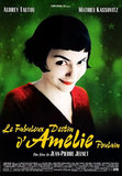 Le Fabuleux destin d'Amlie Poulain's poster (Jean-Pierre Jeunet)