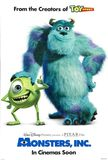 Monsters, Inc.'s poster (Peter Docter)