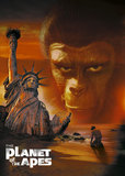 The Planet of the Apes's poster (Franklin J. Schaffner)