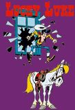 Lucky Luke's poster (William HannaJoseph BarberaMorris)