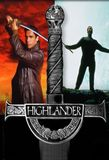 Highlander: The series's poster (Dennis BerryPaolo BarzmanRichard MartinClay BorrisThomas J. WrightPeter EllisRay AustinMario AzzopardiGrard HamelineCharles WilkinsonAdrian PaulJorge MontesiDuane ClarkJames BruceRafal Zielinsk)