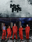 Portada de Misfits (Howard Overman)