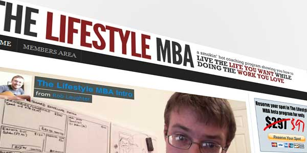 How to join The Lifestyle MBA coaching program for free