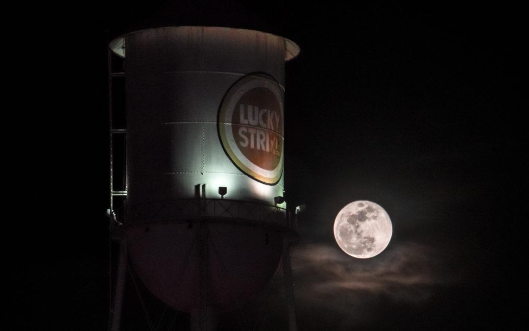 Lucky Strike Tower Full Moon