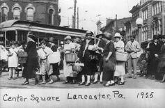 Lancaster, PA.  Center Square